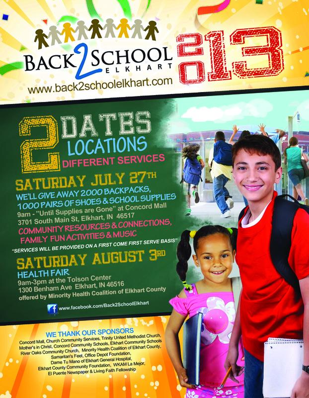Free School Supplies   Elkhart County Grassroots Hub