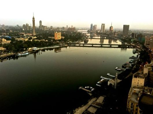 Good Morning Cairo! You look so calm and peaceful in the early morning, as you should be always and usually are.