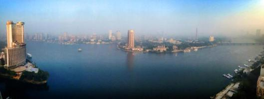 "Good Foggy Morning Cairo! Today is MLK's Inspiring ""I Have a Dream"" speeches 50th anniversary."